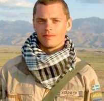 Soldaten Kenneth Wallin.