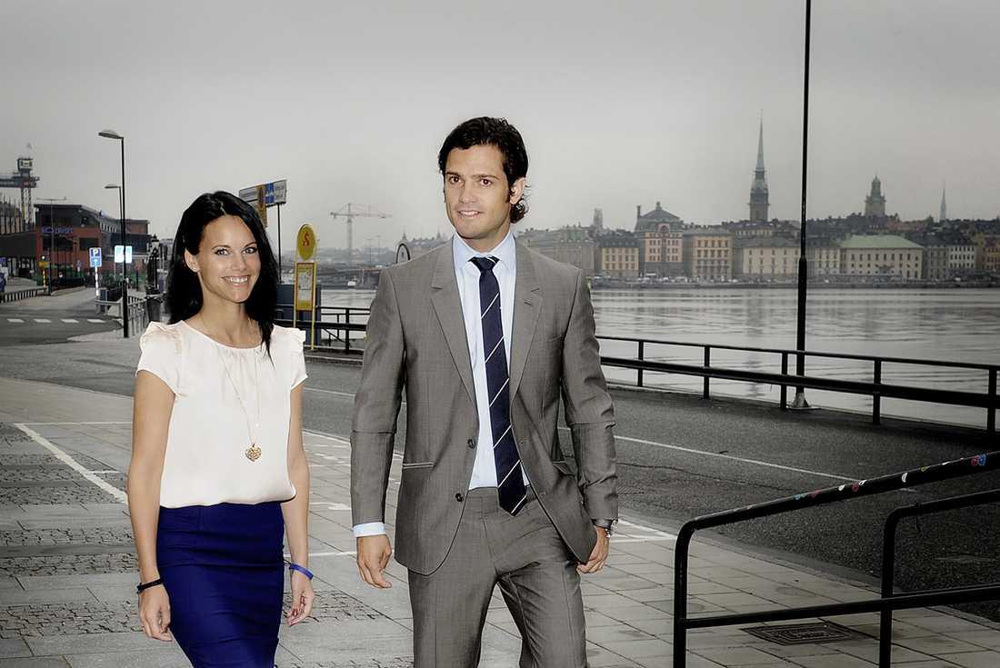 Prins Carl Philip och Sofia har varit ett par i tre år.