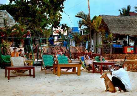 Serendipity Beach är en idealisk plats för slappande.