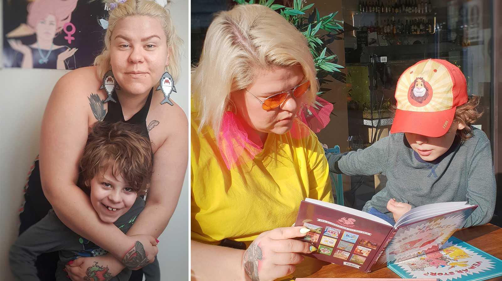 Karins 7-årige son möts av fördomar – för att han har autism