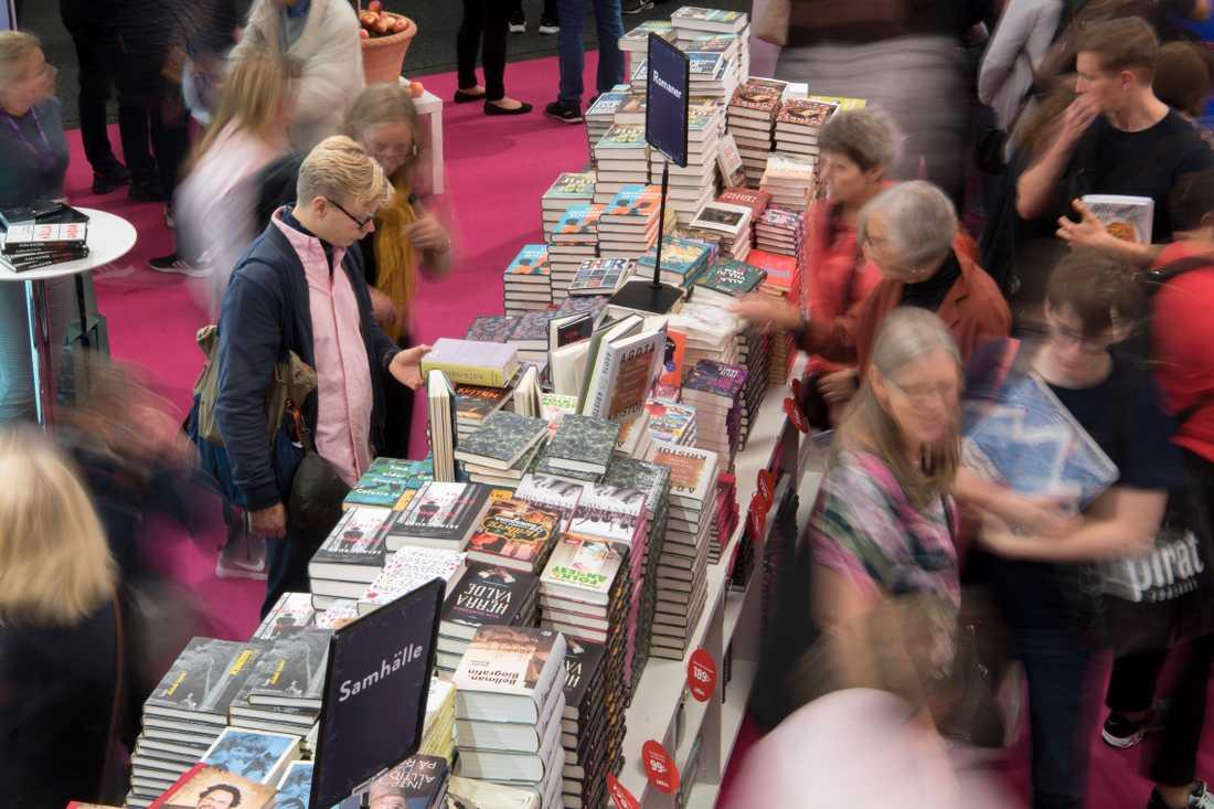Bokmässan i Paris, Livre Paris, ställs in i år. Arkivbild.