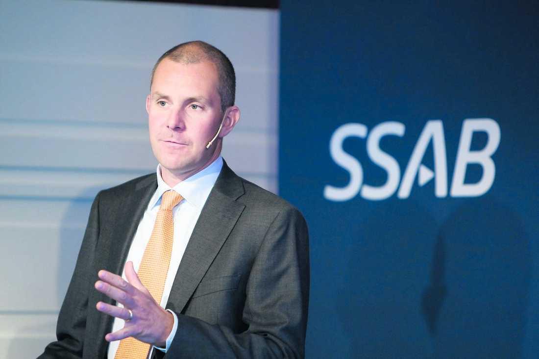 Höjde lönen mest Olof Faxander, SSAB, 215 procent i ökning.