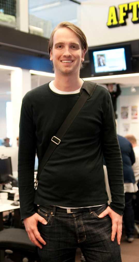 Aftonbladets Ian Vännman.