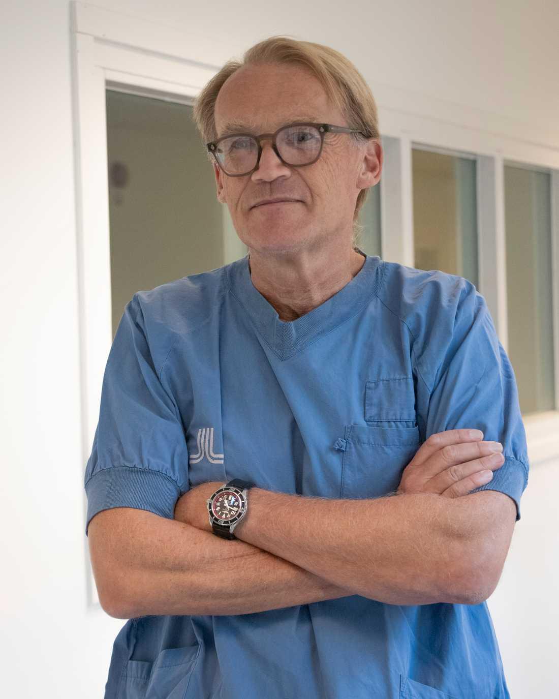 Johan Styrud, överläkare på Danderyds sjukhus.