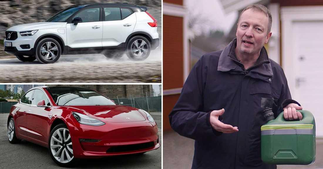 Aftonbladets elbilsexpert Erik Naessén förklarar när det är bra läge att köpa elbil eller hybrid.