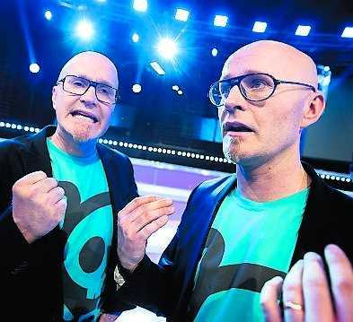 Magnus och Henrik Rongedal var upprörda och arga efter TV4:s dundertabbe.