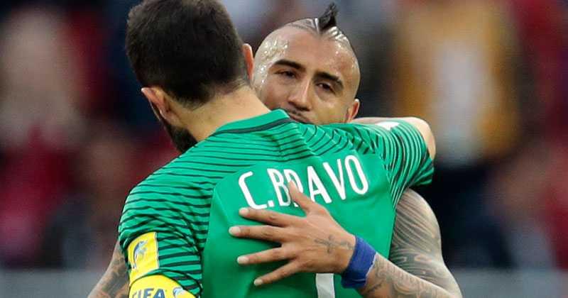 Bravo och Vidal.
