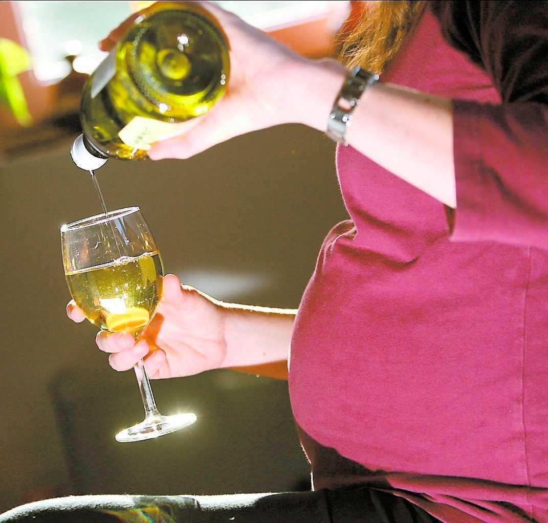 Vin under graviditeten är en dålig idé, enligt en dansk undersökning.
