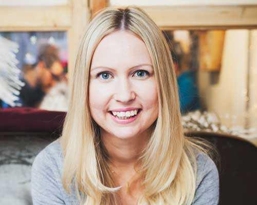 Maria Astrand bor i Barcelona och jobbar med sin stora passion; mat.