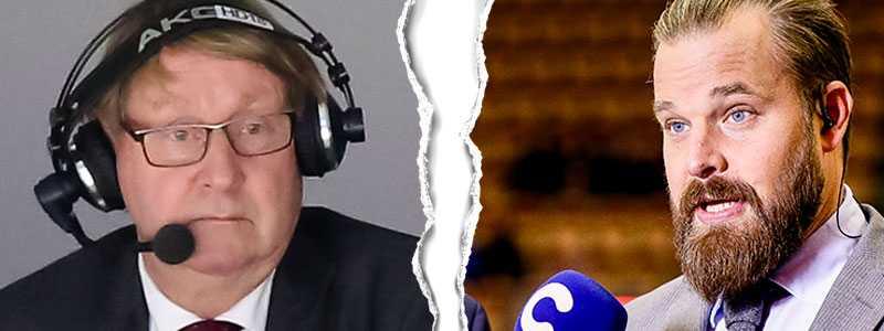 Anders Parmström och Sanny Lindström.