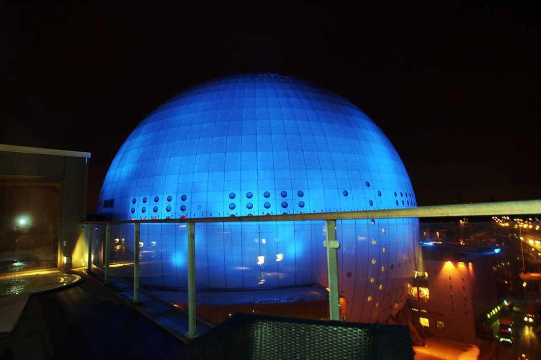 Eurovisions semifinaler och final hålls i Globen i Stockholm