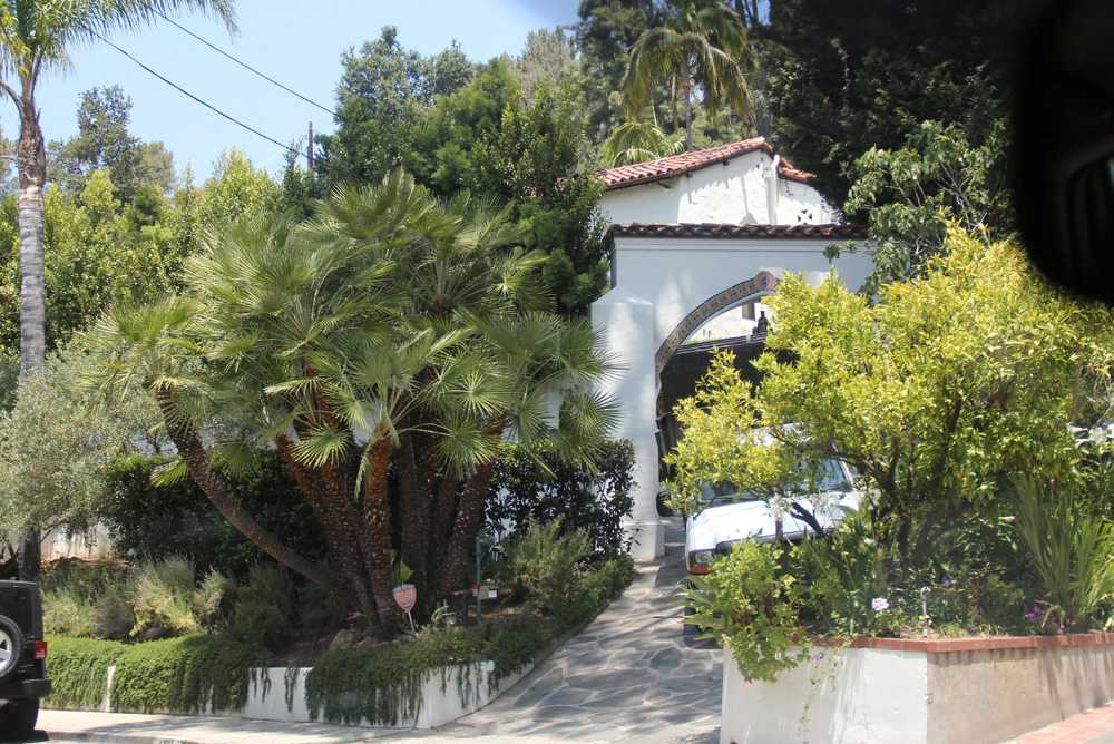 Här är Rob och Kristens hus i Los Angeles.