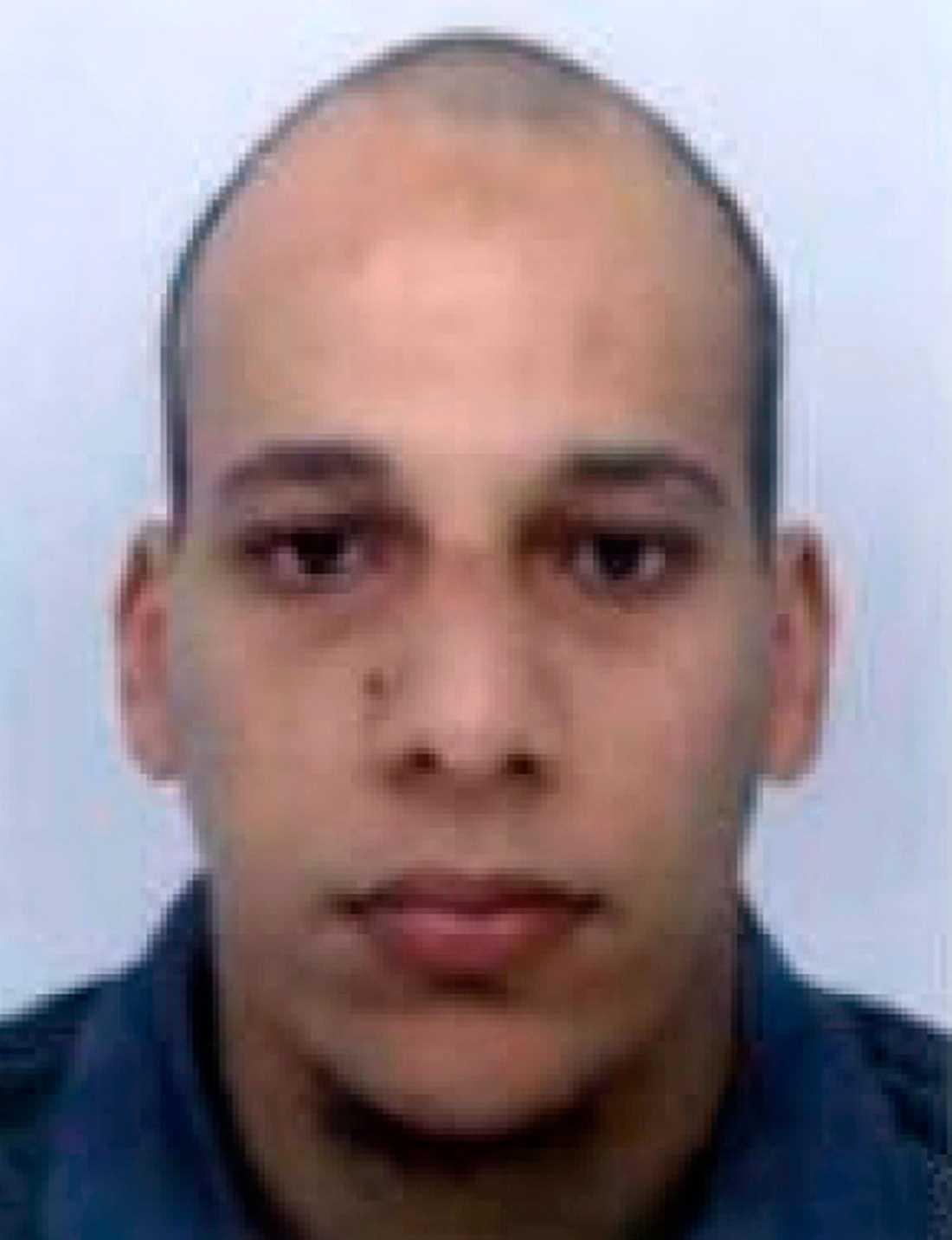 Den misstänkte Cherif Kouachi.