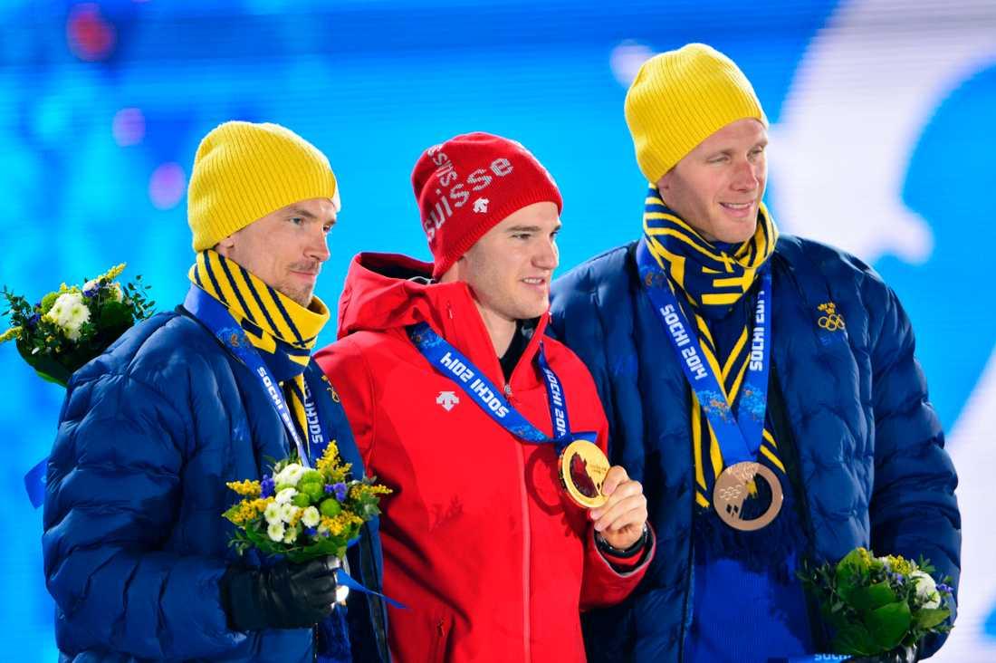 I Sotji tog Rickardsson också ett individuellt brons på 15 km klassisk stil. Johan Olsson tvåa.