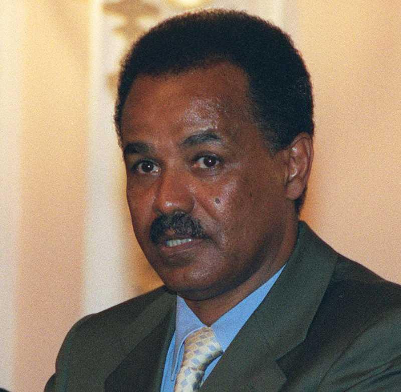 Han griper och fängslar Eritreas president, Isaias Afewerki, har låtit gripa mängder av människor för att hysa omstörtande tankar. Elva gripna ministrar är helt försvunna.