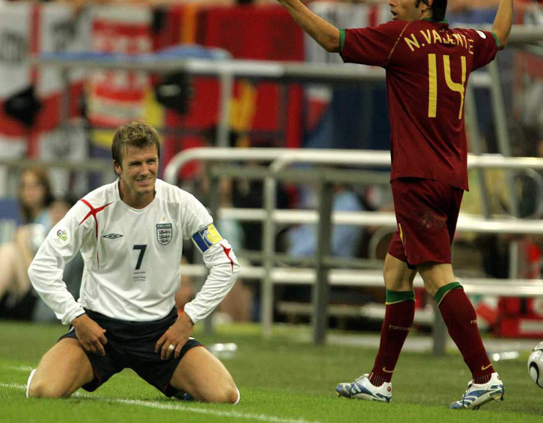 England mötte även Portugal i kvartsfinalen i VM i Tyskland i juli 2006. Det fanns läge för revansch för strafförlusten i EM 2004...