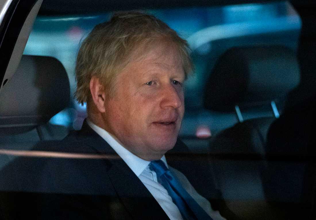 Det var fel av Boris Johnson att stänga parlamentets underhus
