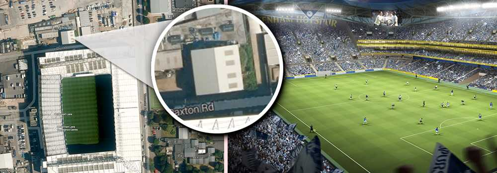 """Familjeföretaget """"Archway Sheet Metal Works"""" vägrar ge vika för Tottenhams planer på en ny arena."""