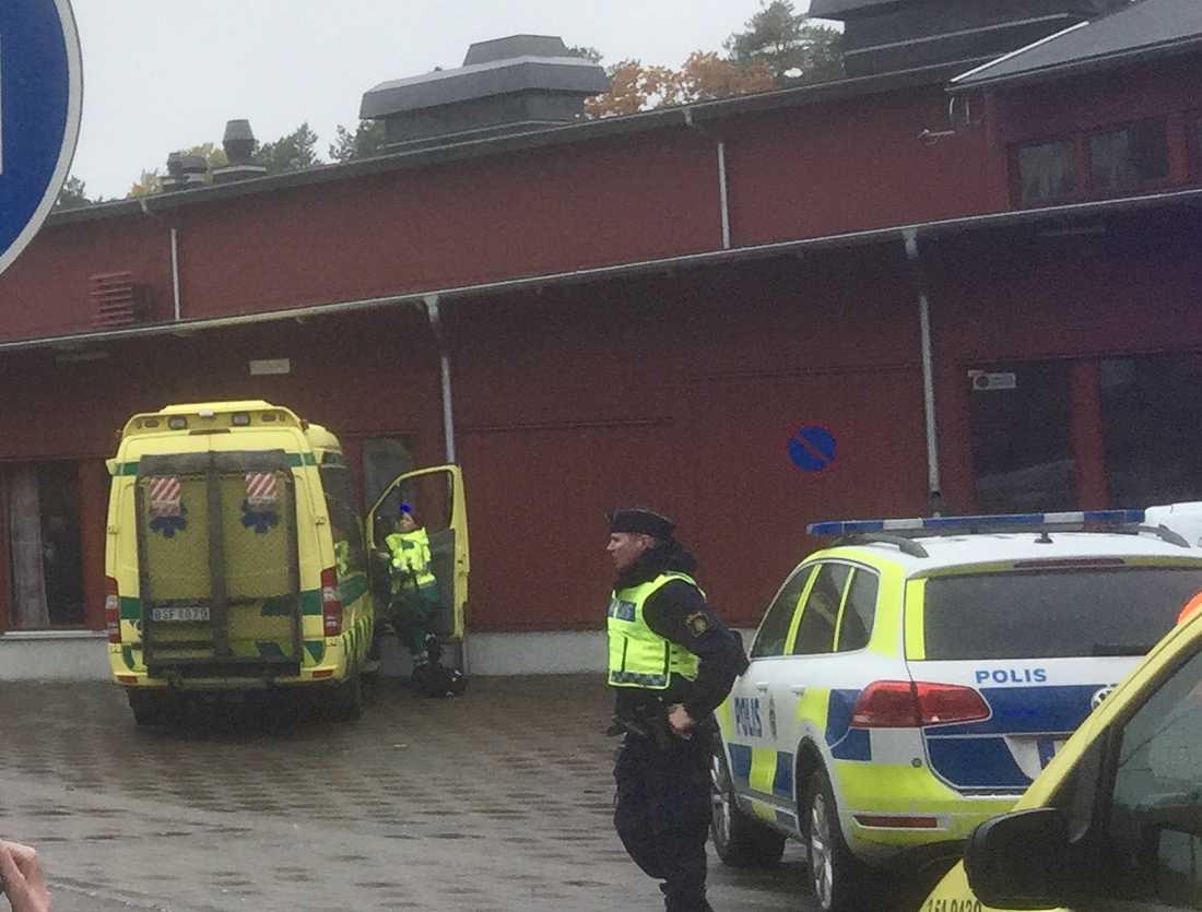 Attacken skedde på skolan Kronan i Trollhättan.