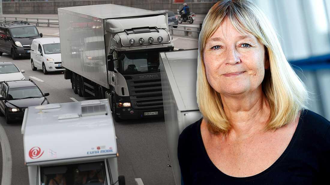 Det är dags att lagstifta om rimliga kör- och vilotider, skriver Marita Ulvskog (S).