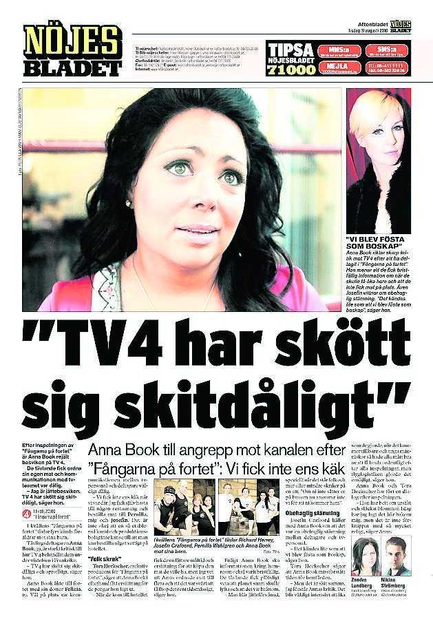 Nöjesbladet igår.