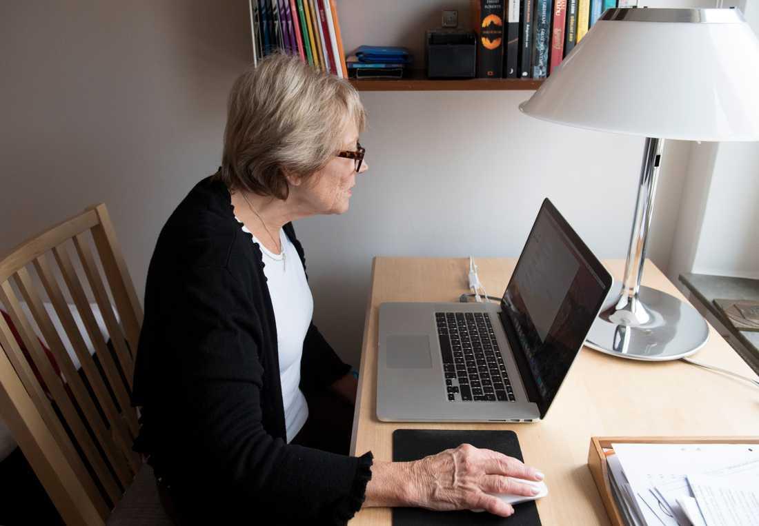 En undersökning från Skandiabanken indikerar att framtida pensionärer kan få svårare att beviljas nytt bolån. Arkivbild.