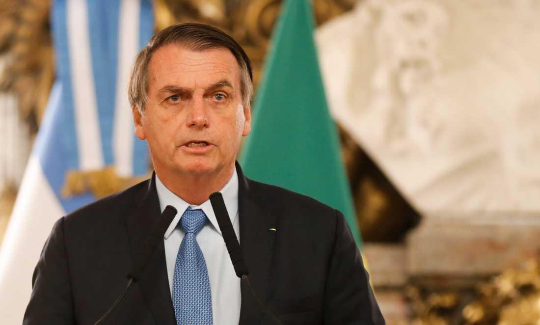 Brasiliens president Jair Bolsonaro.