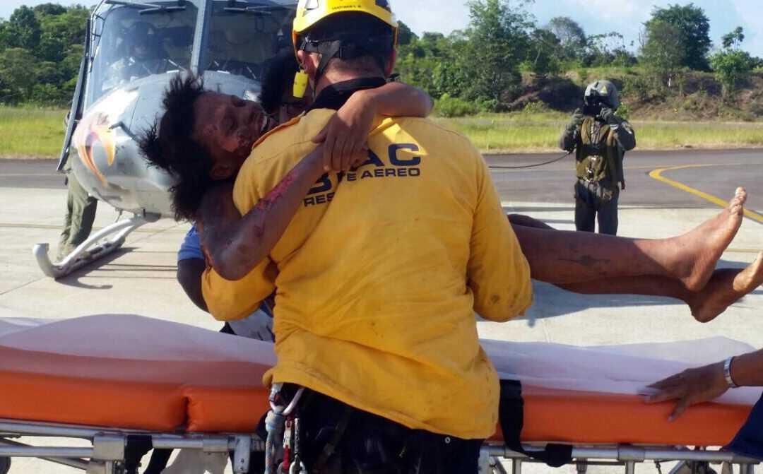 18-åriga Nelly överlevde flygkraschen och fem dagar i den täta colombianska djungeln.