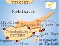 Karta Cypern Flygplats.5 Avstickare Pa Heta Cypern Aftonbladet