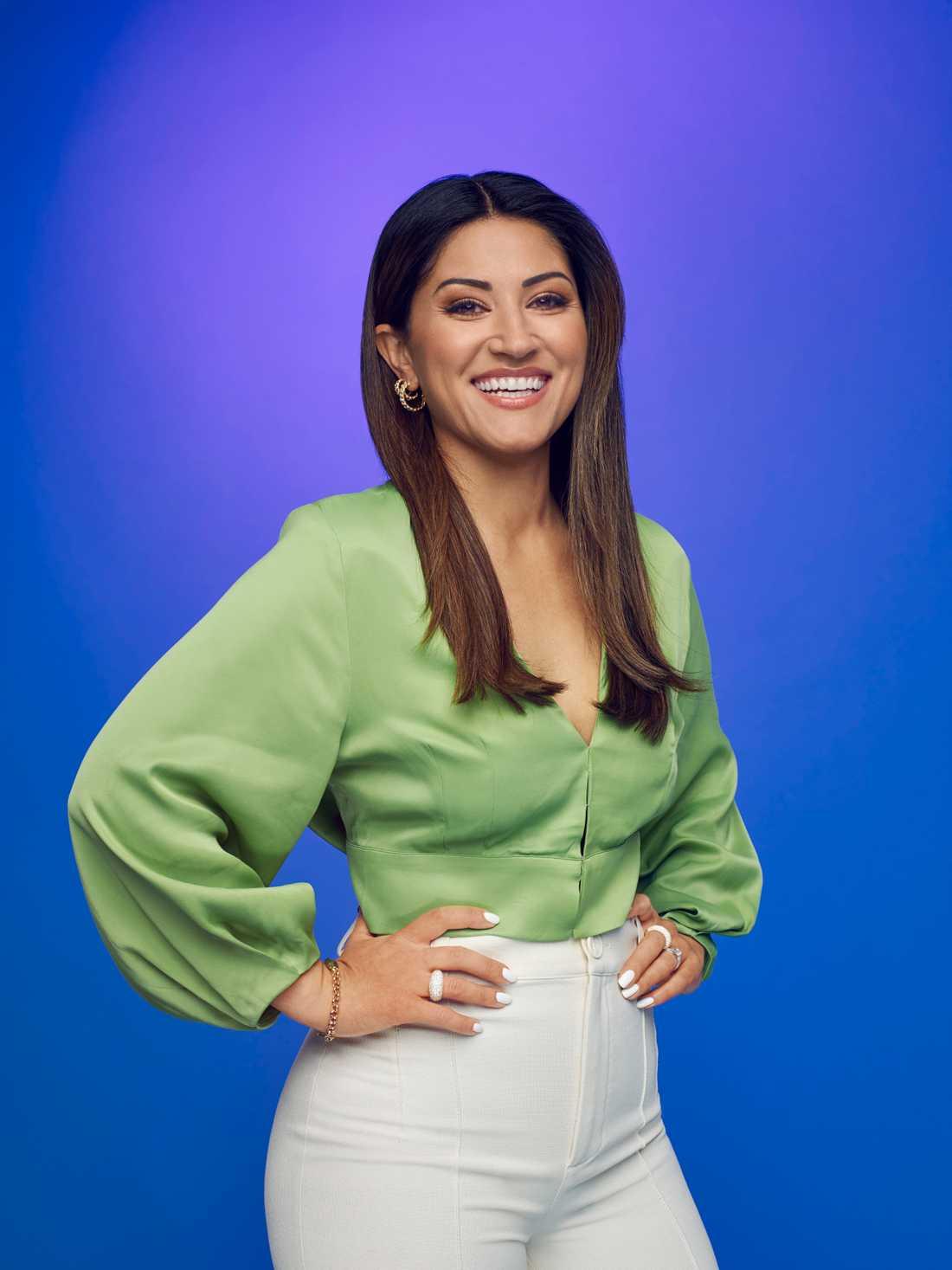Jurymedlemmen Nikki Amini.