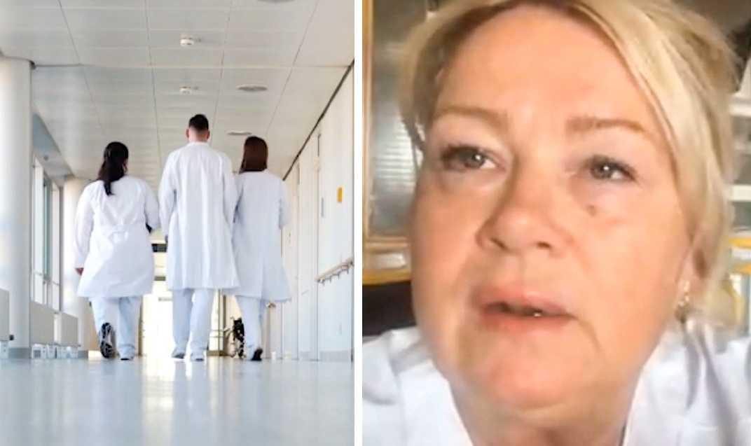 """""""Risken för vårdskador ökar"""", säger sjuksköterskan Maria Möller."""