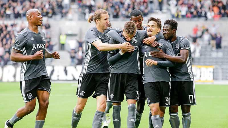AIK vann bortamötet med 2-0 - precis som de här gjorde på hemmaplan.