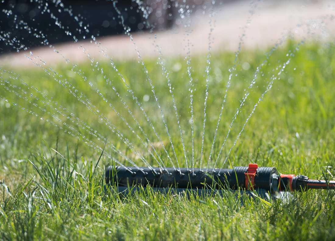 Grundvattennivåerna är låga på flera håll i landet. Arkivbild.