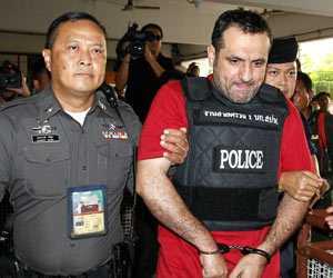Atris Hussein hävdar att han är oskyldig.
