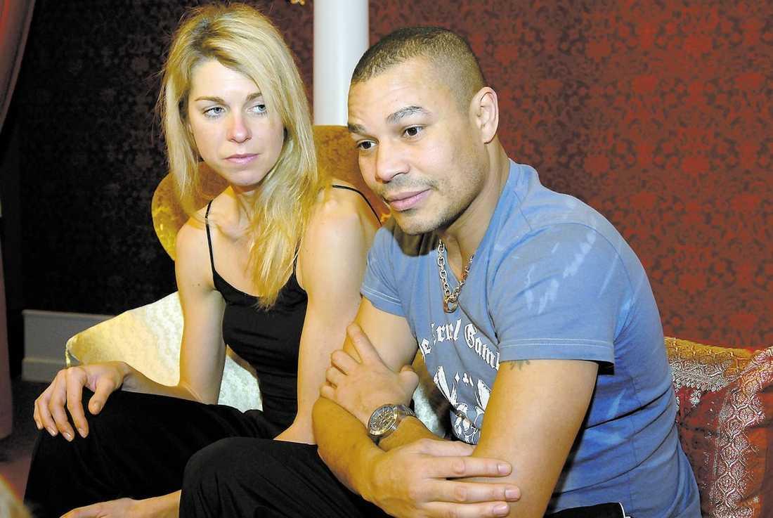 """George Scott riskerar sin plats i """"Let's dance"""" när han går på Ingemar """"Ingo"""" Johanssons begravning på fredag. Men han tvekar inte inför beslutet: Det är inget snack om saken, jag måste till begravningen, säger Scott, här med danspartnern Maria Karlsson."""