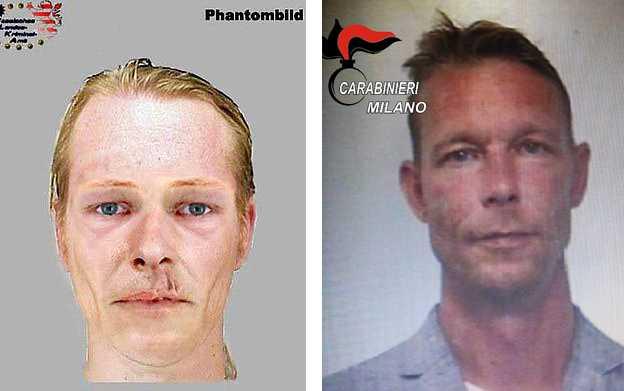 Till vänster är den fantombild som tysk polis släppte i samband med mordet på 13-årige Tristan. Och till höger Christian Brückner, misstänkt för att ha mördat Madeleine McCann.