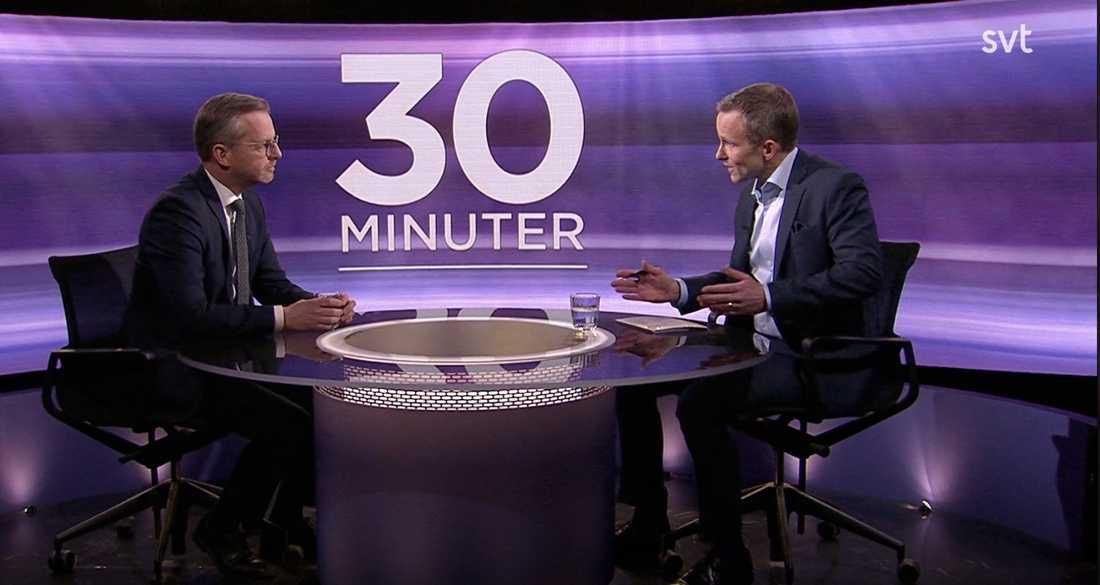 """Mikael Damberg intervjudes i veckan av Anders Holmberg i """"30 minuter"""". Inrikesministern talade då om en """"game changer"""" i arbetet mot gängkriminaliteten men fick inga följdfrågor."""