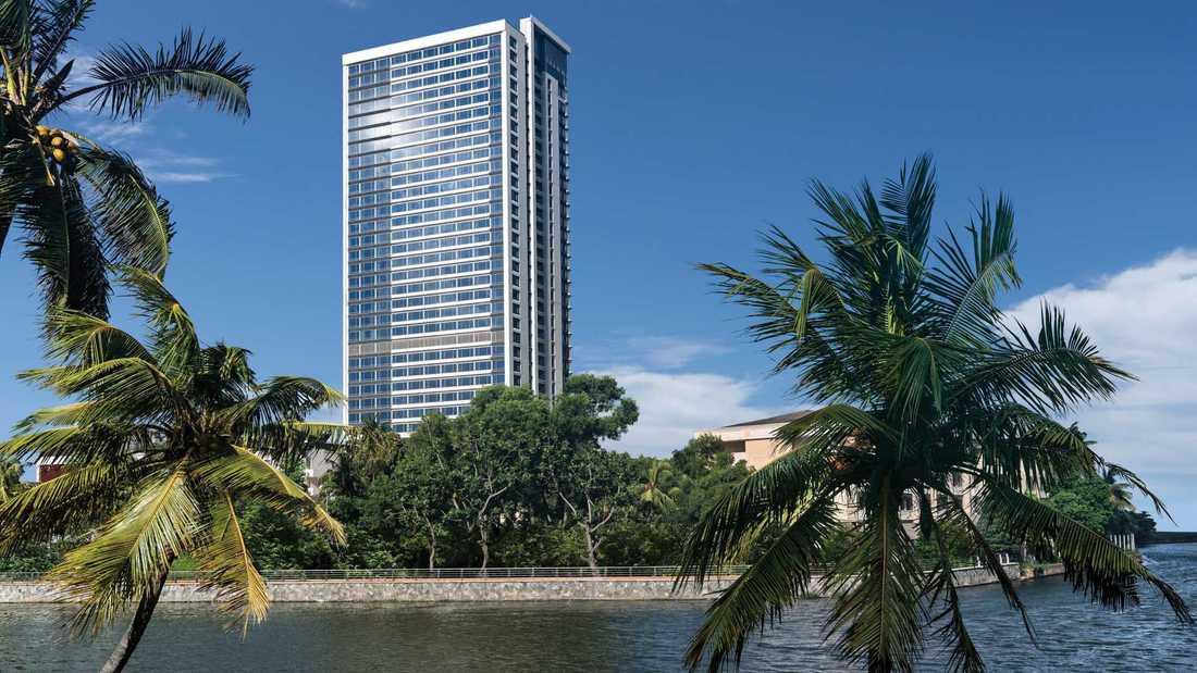Hotellet Shangri La i Colombo är ett av de attackerade. OBS: Arkivbild.