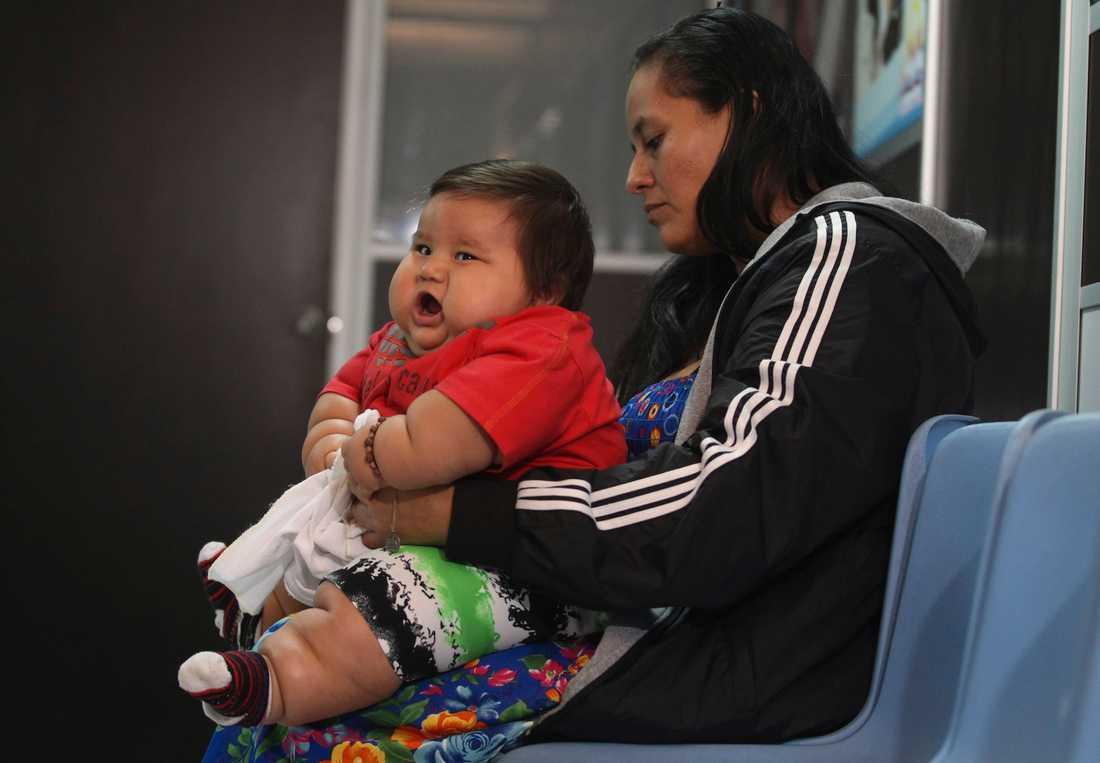 Barnet riskerar att i framtiden drabbas av allvarliga sjukdomar som diabetes.