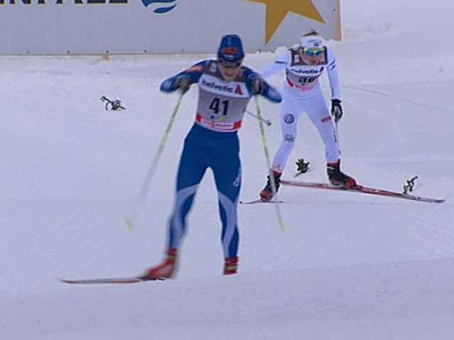 SVT:s expert Öhrstig ville att någon ledare skulle plocka den lidande Larsen av spåret.