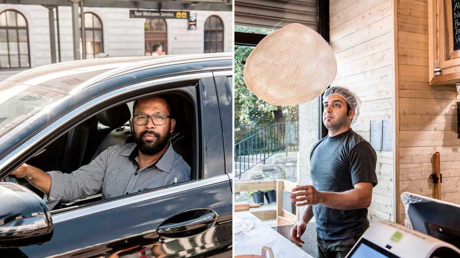 Pizzabagare och taxichaufförer mest coronasmittade yrkesgruppen
