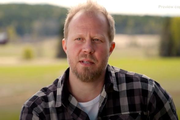 """Jon-Erik Andersson fick corona precis innan """"Bonde söker fru""""-inspelningarna."""