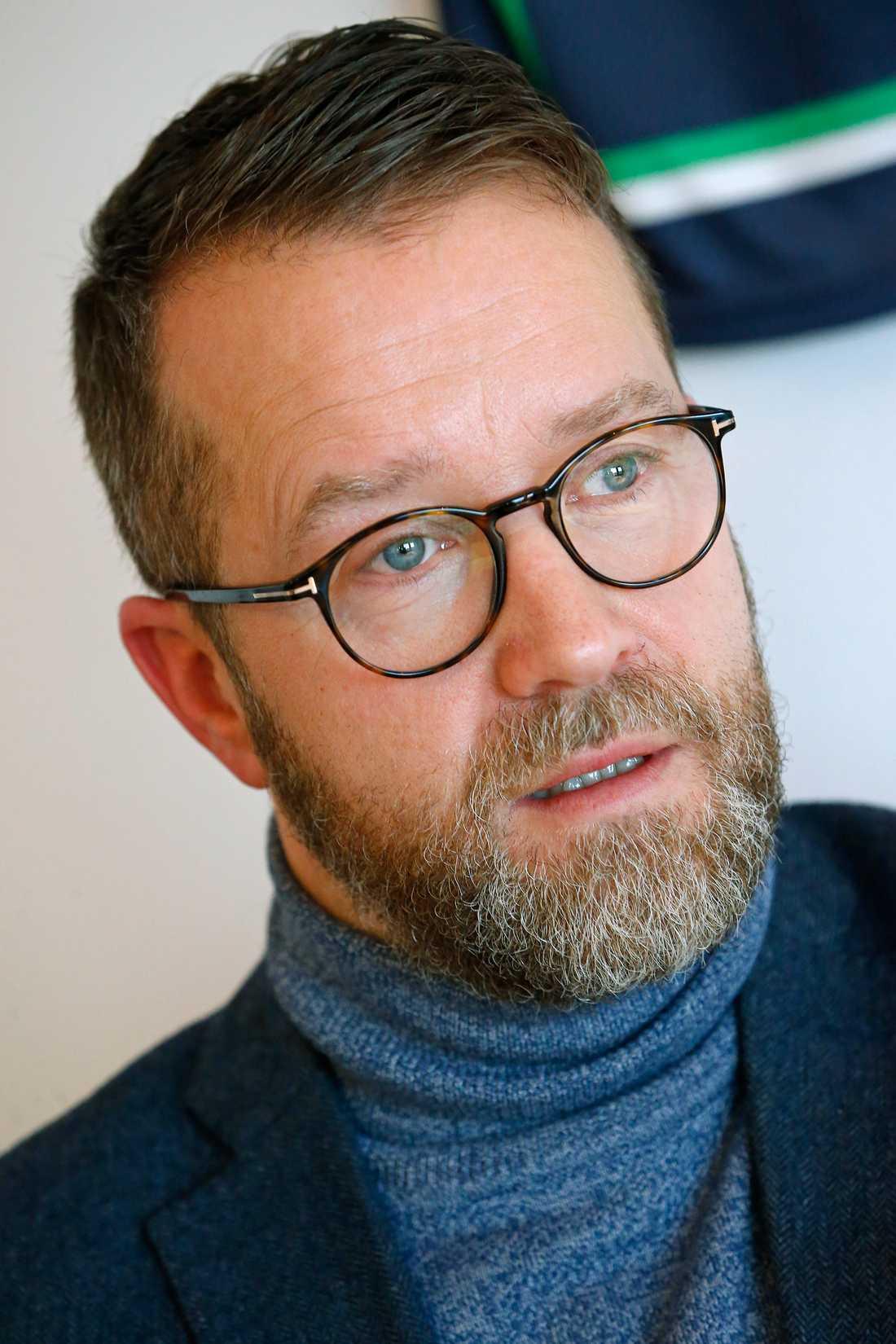 Solvallas sportchef Anders Malmrot
