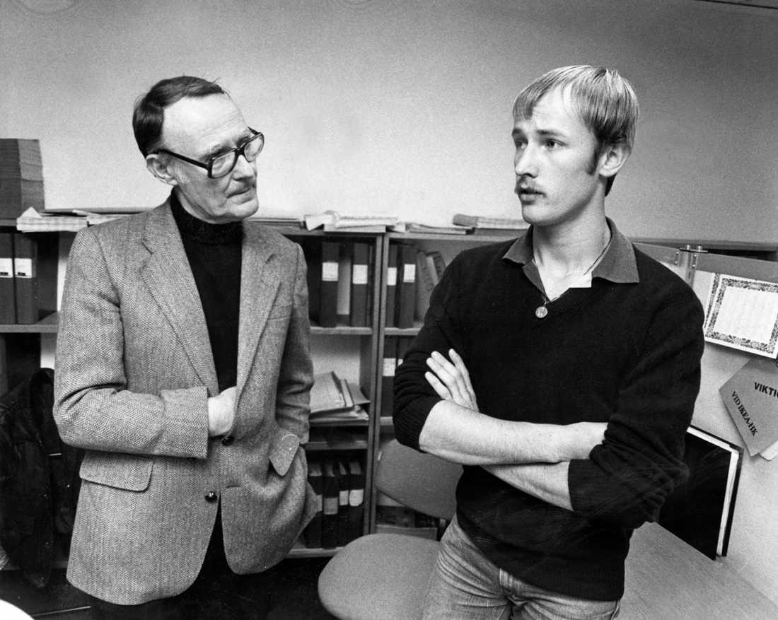 Ingvar Kamprad med sonen Peter.