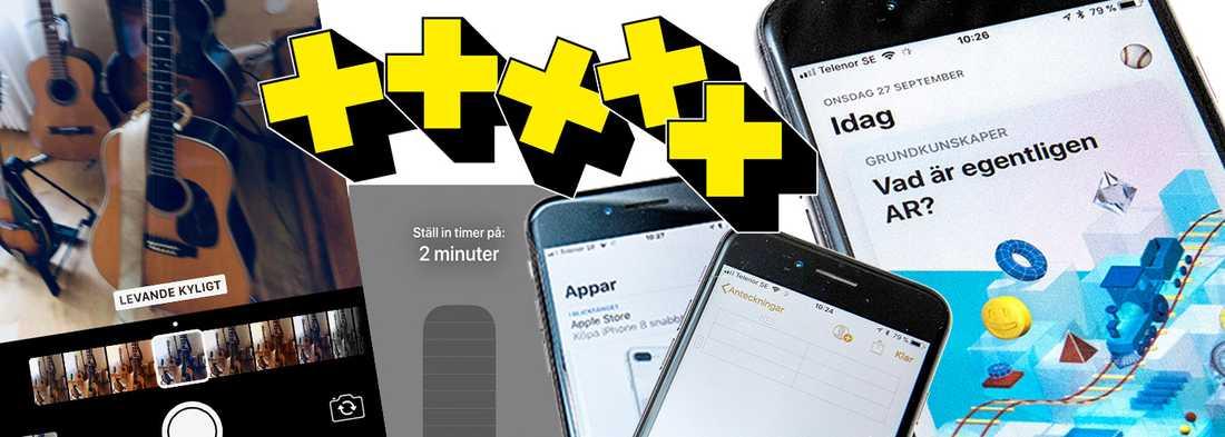 9478f386920 Aftonbladets Peter Pettersson sätter betyg på 30 nyheter i operativsystemet