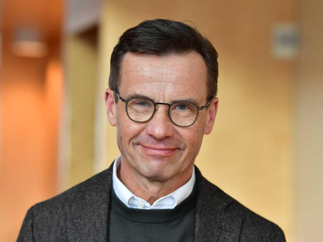 Moderaternas partiledare Ulf Kristersson föreslår att kvinnor ska få utföra medicinska aborter i hemmet. Arkivbild.