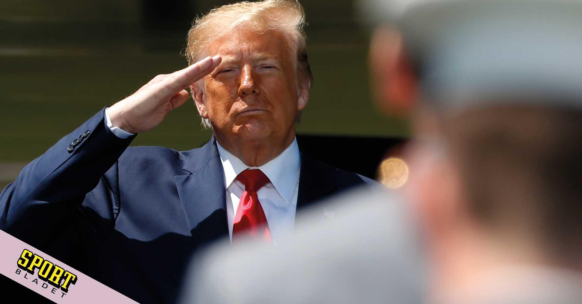 Donald Trump hotar med bojkott
