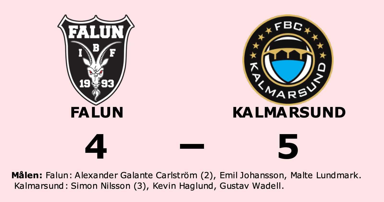 Kalmarsund vann – håller finalen mot Falun vid liv