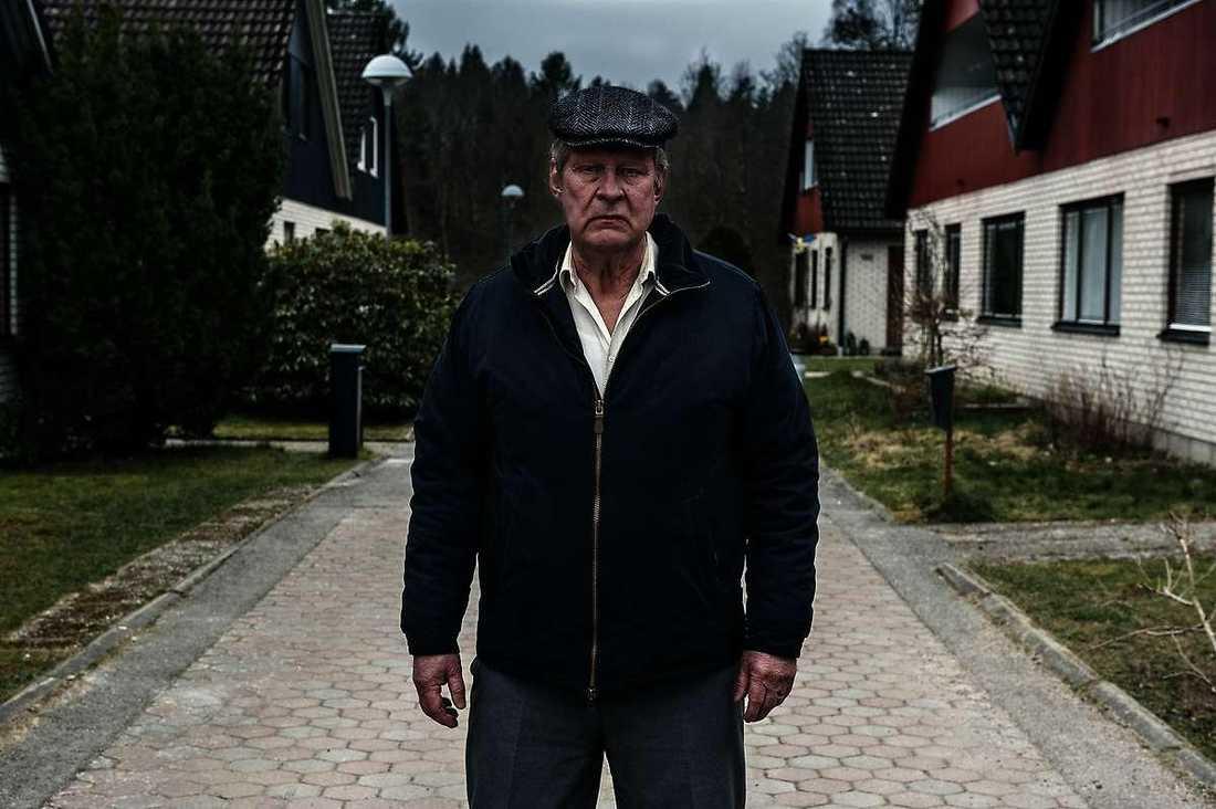 """Rolf Lassgård i """"En man som heter Ove""""."""