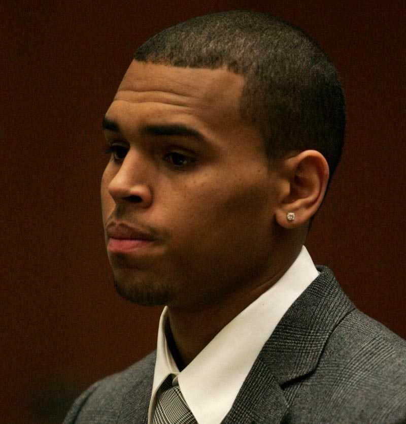 Chris Brown till rätten i dag igen.
